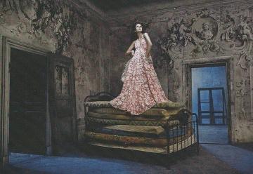 Dongeng | Putri, Kacang, dan Cermin