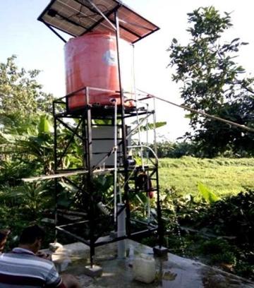 Produksi Padi Meningkat Berkat Pompa Air Tenaga Surya