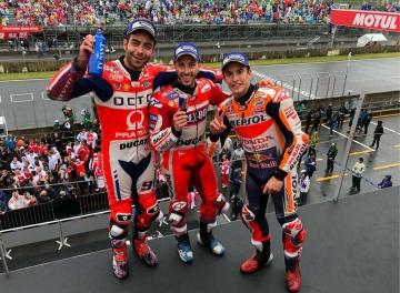 Dovizioso Juara di MotoGP Motegi Jepang, Rossi Gagal Finish
