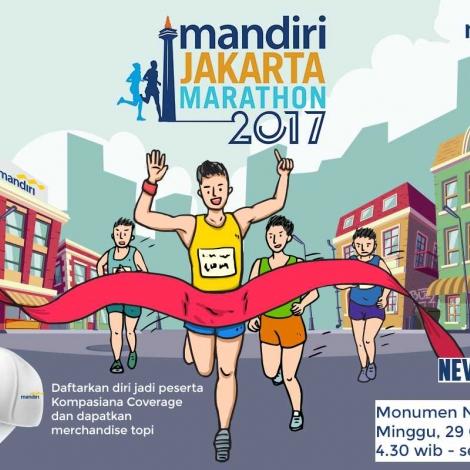 Tumbuhkan Gaya Hidup Sehat dengan Berkompetisi Lari di Mandiri Jakarta Marathon 2017