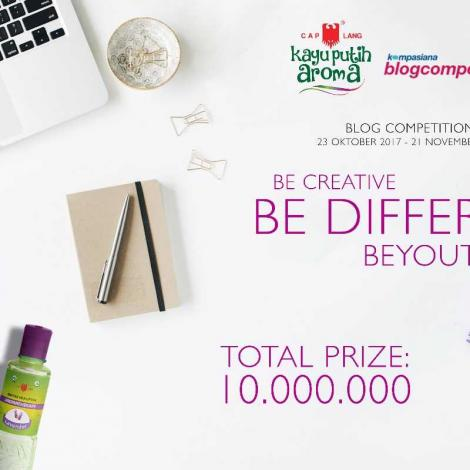 [Blog Comp] Be Creative, Be Different, BeYOUtiful